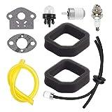 2 paquetes 560873001 filtro de aire + foco de montaje de línea de combustible para Toro 51944 51945 51954 51955 51974 51975 secuencia Trimmer