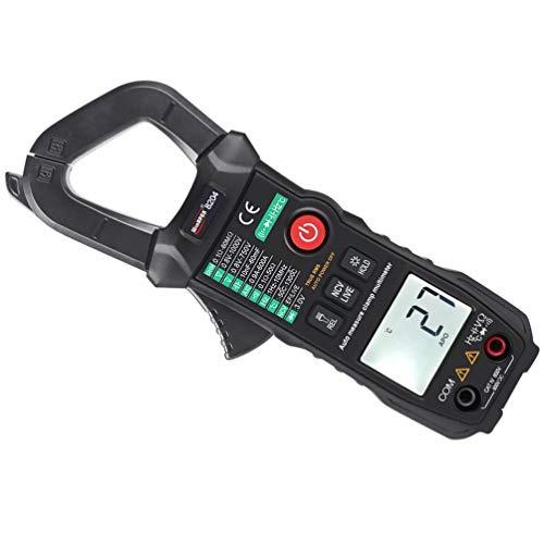 Iplusmile Multímetro Digital de Rango Automático Voltímetro VFC Capacitancia de Temperatura CA/CC Voltaje Ohmios Batería Probador Equipo de Medidor Portátil de Bolsillo