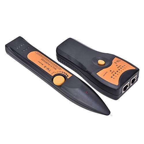 Detector de cable de red, buscador confiable de líneas telefónicas, líneas telefónicas de baja potencia, duraderas, estables y eficaces automáticas para señales de audio de la industria de