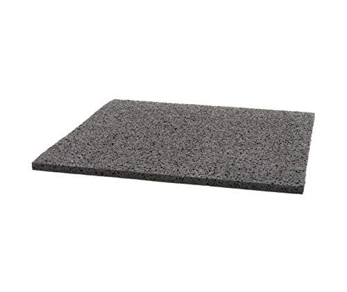 HORI Gummiunterlage für Terrassenlager 200 x 200 x 6 mm