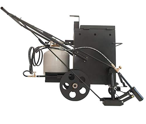 Hotbox 10 Crack Filling Machine Mobile hot Rubberized Asphalt Melter Kettle (Hotbox 10 Dual Torch)