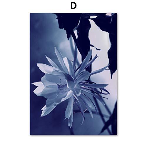 Preisvergleich Produktbild XWArtpic Sukkulenten Agavenblatt Lotus Wandkunst Leinwand Malerei Nordic Poster Und Drucke Wandbilder Für Wohnzimmer Schlafzimmer Dekor D 50 * 70cm