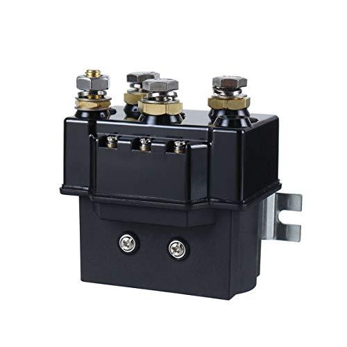 Nuevo MEI 12 V torno solenoide relé controlador 500 A 1500 libras interruptor relé ajuste para 4WD 4x4 barco ATV instalación es simple y el modelo es adecuado