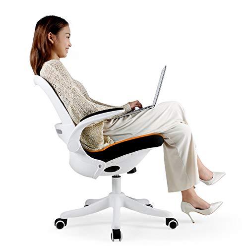 Silla giratoria Hogar Silla para juegos, silla de escritorio con soporte lumbar de altura ajustable,...