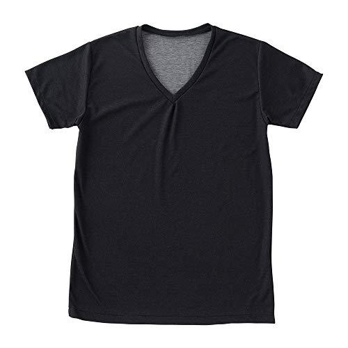 アシストラボ 汗を染み出させないシャツ 日本製 アシストデュアルシャツ Sサイズ ブラック 9504-S-01