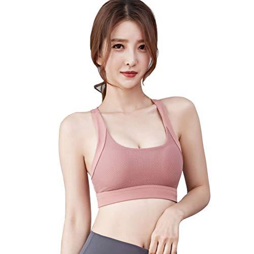 Yoga Vest Dames Sport Ondergoed Hardlopen Fitness Top Sneldrogende Yoga BH