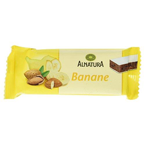 Alnatura Bio Banane-Fruchtriegel, 16er Pack (16 x 40 g)