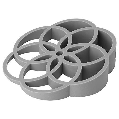 Türstopper, grau, Produktgröße: Höhe: 3,5 cm, Durchmesser: 15 cm, Material: Synthetikkautschuk