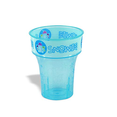 Snowie - Pack of 8 Souvenir Cups, Perfect Reusable Machine Washable Snow Cone Shaved Ice Cup (Pack of 8)