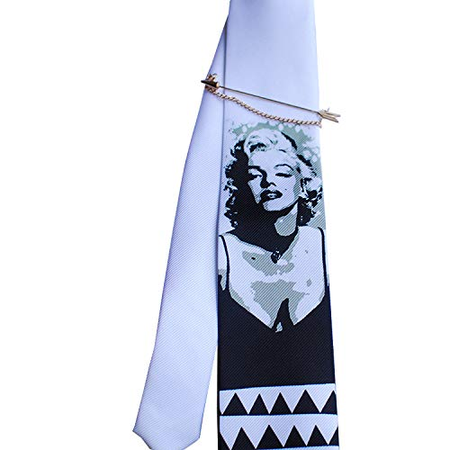 Merlin Marilyn Monroe Corbata de diseño de Moda Hecha a Mano ...