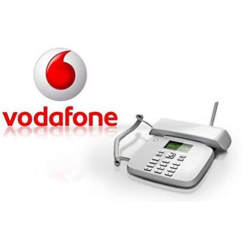 VODAFONE Telefono Fisso CLASSIC 2016 S - Funziona con SIM - Display Retroilluminato Suoneria Vivavoce
