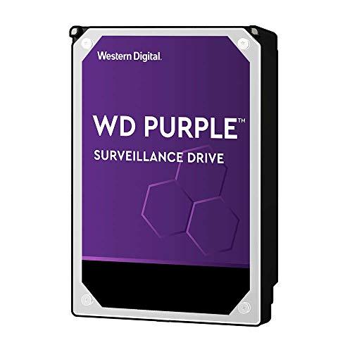 """Western Digital 8TB WD Purple Surveillance Internal Hard Drive HDD - 7200 RPM, SATA 6 Gb/s, 256 MB Cache, 3.5"""" - WD82PURZ"""