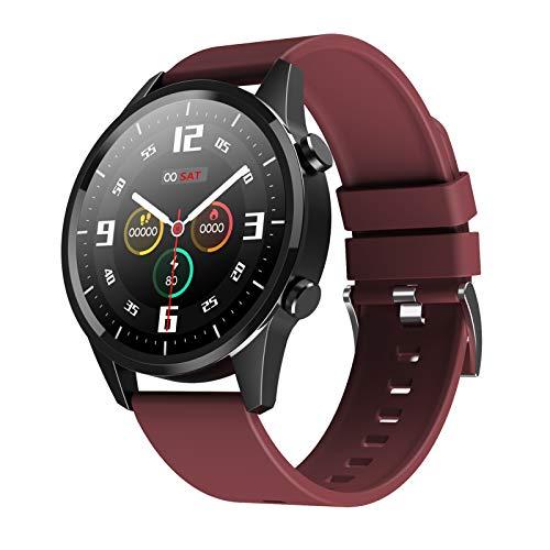 1,28 '' Smart Watch Full Touch Herzfrequenz Blutdruckerkennung Multi-Sport-Modus Wissenschaftlicher Schlaf Bewegungsmangel IP67 Wasserdichter Fitness-Tracker Smartwatches Sport Armband Geschenke für