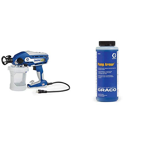 Graco 17A466 TrueCoat 360 DS Paint Sprayer & 243104 Pump Armor, 1-Quart