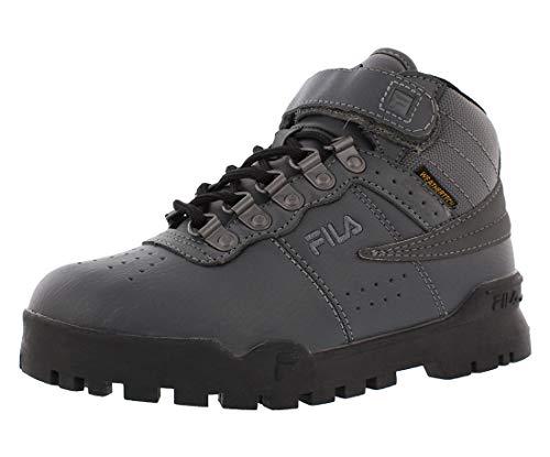 Fila Kids F-13 Weather Tech Shoes Csrk/Black/Dksv 11