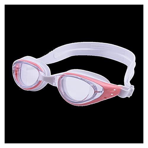 YWSZY Gafas Natacion, Equipo de Buceo Anti-Ultravioleta Equipo de Buceo Piscina Cómodo Silicona Gafas (Color : Pink)