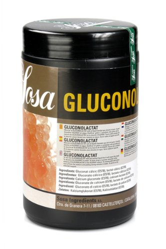 Gluconolactat (Calciumglukonat und -lactat), E 578, E 270, 500g