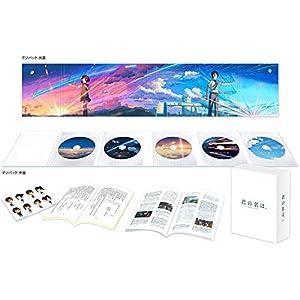 """「君の名は。」Blu-rayコレクターズ・エディション 4K Ultra HD Blu-ray同梱5枚組 (初回生産限定)"""""""
