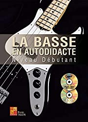 La basse en autodidacte - Débutant (1 Livre + 1 CD + 1 DVD)