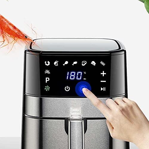 41HavsA46RS. SL500  - XINGYU Luftfritteuse, 1500W elektrische Luftfritteuse mit digitalem LED-Touchscreen-Arbeitsplattenofen mit Dehydrator Rotisserie Fettarmes und ölfreies Abnehmen