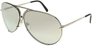 PORSCHE DESIGN P8478 B Sunglasses P'8478 Titanium Silver Frame