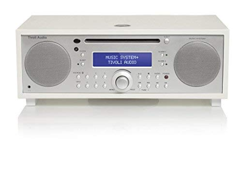 Tivoli Audio 815097015246 Music System + All In One Sistema hi-fi con radio DAB +, CD e Bluetooth Nero