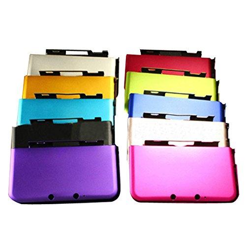 GOZAR Mehrfarben-Aluminium-Hartmetall-Fall-Shell für 3DS XL LL - Silber