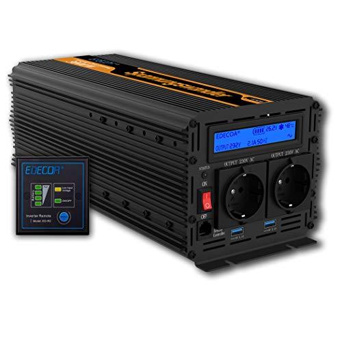 EDECOA Transformador de corriente 24V 220V Convertidor...