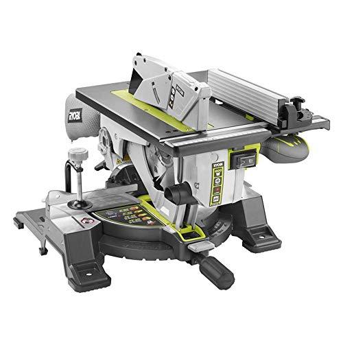Ryobi Kapp-, Gehrungs- und Tischkreissäge RTMS1800-G, 1800 W, 230V, Staubfangsack, integriertes Absaugsystem, Laserschnittanzeige, Sicherheitsschalter, Art.-Nr. 5133002152 - 2