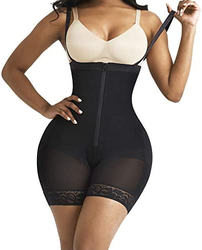 FeelinGirl Women s Seamless Firm Triple Control Shapewear Underwear Bodysuit Plus Size S product image