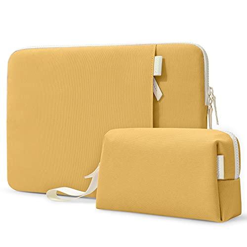 tomtoc Tasche Set für 13-Zoll MacBook Air M1/A2337 A2179 2018-2021, MacBook Pro M1/A2338 A2251 2016-2021, 12,9
