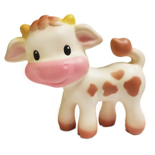 Infantino Teether Toy, Squeeze & TeeThe Cow