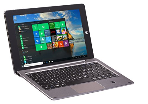 'e-tab bpl64W3ek Tablet PC, Pantalla LCD/LED de 10.1(Intel Atom z8350, RAM 4GB, Plata