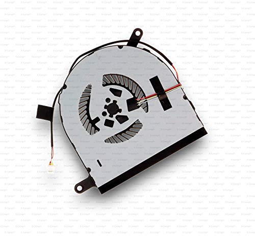 X-Comp CPU Fan Cooler YJ94J for Dell Inspiron 17 7778 17 7779 Series