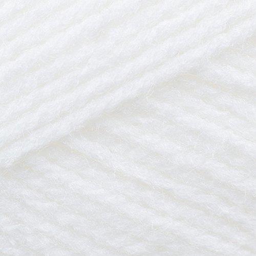 100g Double knitting Baby White Wool, BB4 by James C Brett Yarn