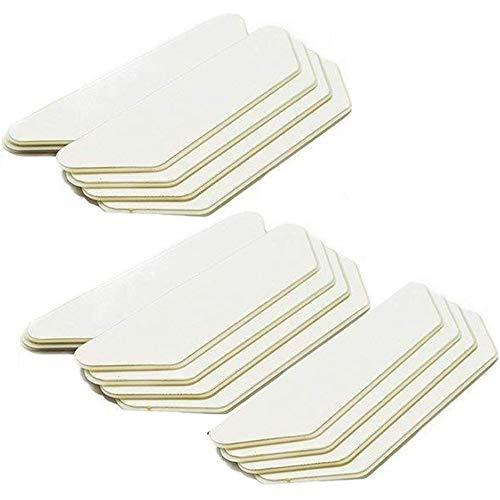 Xinlie Teppichgreifer Antirutschmatte Rutschschutz für Teppich rutschfest Teppichstopper Teppich Anti-Rutsch-Aufkleber rutschfeste Teppich-Pads für Teppich für Büro Schlafzimmer Waschbar (16 Stück)