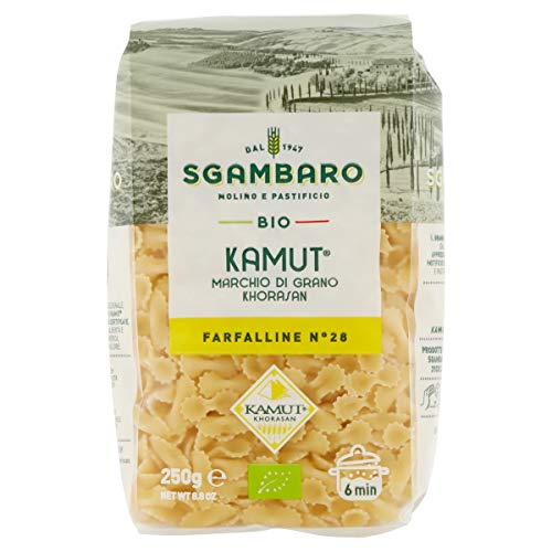 Pasta Sgambaro - Farfalline - Kamut Bio - 250 gr