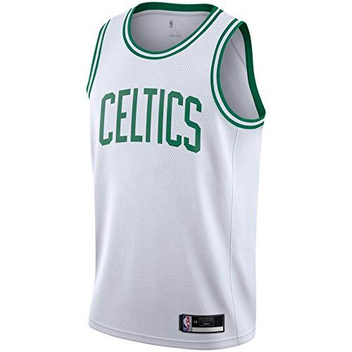 Outerstuff NBA Youth 8-20 Wordmark White Association Edition Swingman Jersey (Boston Celtics Association Edition, 14-16)