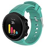 Correa de Reloj de Silicona Suave Compatible con Suunto Spartan Ultra, Repuesto Ideal (Pattern 2)