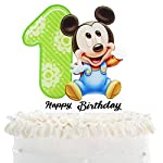 Mickey Mouse 1st Birthaday Cake Topper