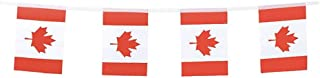 Canada Flags Canadian Small String Flag Banner Mini National Country World Flags Pennant Banners for Party Events Classroo...