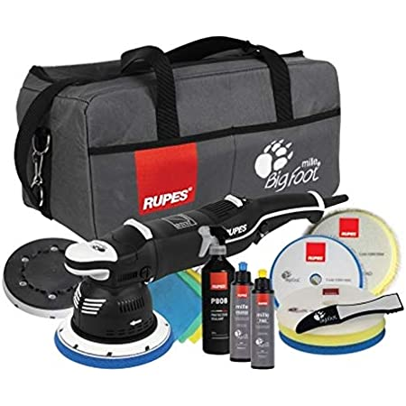 Rupes Bigfoot Mille Lk900e Gear Driven Polierer Standard Kit 6 Items Auto