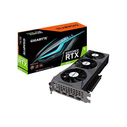 Gigabyte GeForce RTX 3070 EAGLE OC - Scheda grafica da 8 GB