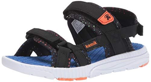 Kamik Boys' MATCH2 Sandal, Black, 9 M US Toddler