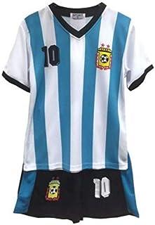 fb3da3569fc41 Ensemble de Sport - Tee Shirt et Short Argentine Enfant