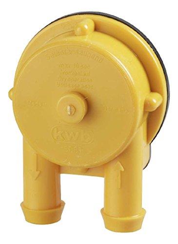 Pompe auto-amorçante KWB 49506100 idéale pour remplir ou vider les citernes à eau de pluie.