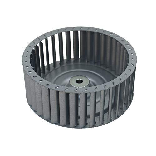 Turbina secador Φ 97 120 133mm helice motor ventilador secadora aire turbina extractora de cocina estufa turbina ventilador aire caliente industrial (133x52mm - 8mm - Inox)
