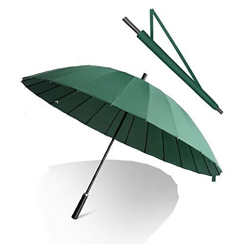 QNMP 24 os à Long Manche Parapluie, renforcé Grand Vent...