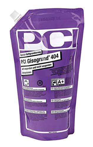 PCI Gisogrund 404 Spezial-Haftgrundierung 1 l Tiefengrund Fliesen Holz - Für Bodenausgleichsmassen, z.B. PCI Periplan® Extra