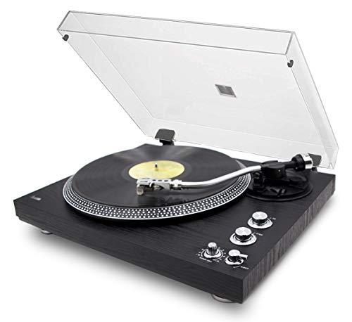 Professionele platenspeler Lauson OM83 Encoding PC-Link | platenspeler van vinyl met moderne magnetische naald audiotechnologie | platenspeler van vinyl 2 snelheden met contragewicht